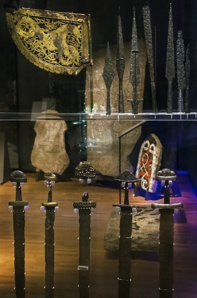 Viking exhibition, Swedish History Museum
